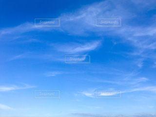 青空と雲の写真・画像素材[1409608]