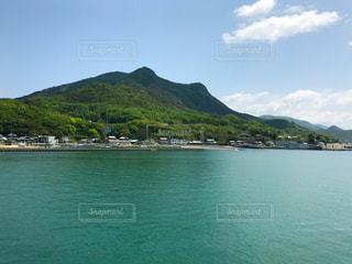 船上から見た小豆島の写真・画像素材[2123067]