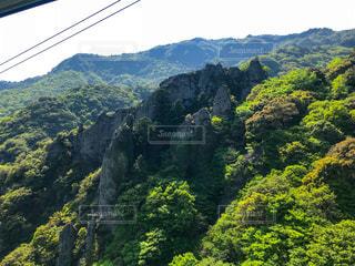 小豆島 寒霞渓 ロープウェイからの眺めの写真・画像素材[2141144]