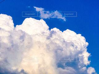 青空と入道雲の写真・画像素材[2209283]