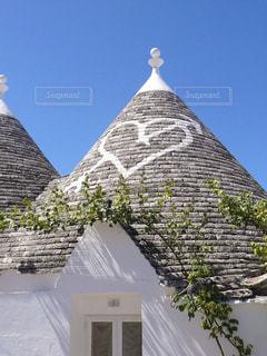アルベロベッロのトゥルッリの屋根の写真・画像素材[2232733]