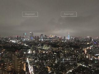ソウルタワーからの夜景の写真・画像素材[1197756]
