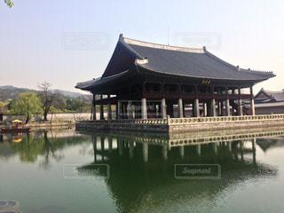 韓国の宮廷の写真・画像素材[1197778]