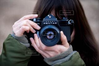 秋とカメラとの写真・画像素材[1388209]