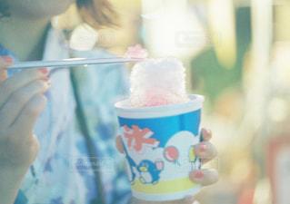 かき氷の写真・画像素材[1421209]
