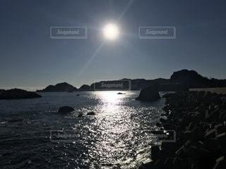 海と太陽の写真・画像素材[1199602]