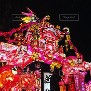 お祭りの山車の写真・画像素材[1199236]
