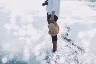 光る海。の写真・画像素材[1200124]