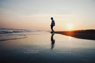 初夏の夕陽。の写真・画像素材[1261675]