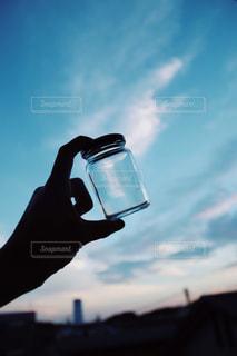 瓶詰めの空。の写真・画像素材[1292298]