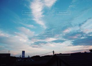 ベランダからの景色。の写真・画像素材[1292325]