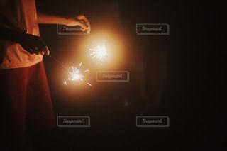 手持ち花火の写真・画像素材[2433515]