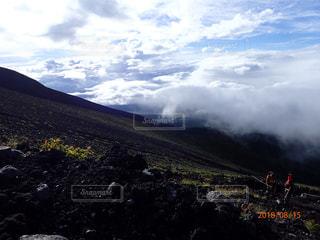 富士登山の写真・画像素材[1619990]
