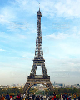 エッフェル塔の写真・画像素材[1201543]