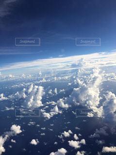 飛行機から見る雲の写真・画像素材[1207812]