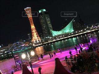 神戸のアイススケート場の写真・画像素材[1202050]