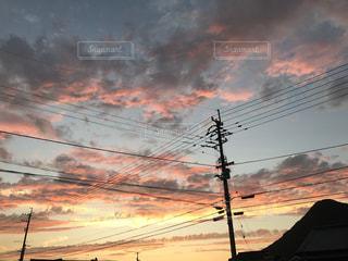 夕方の風景の写真・画像素材[1202147]