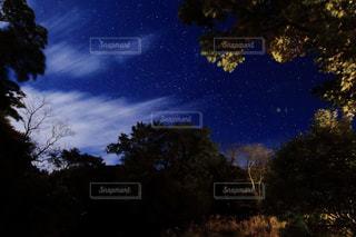 山の星空②の写真・画像素材[1202228]