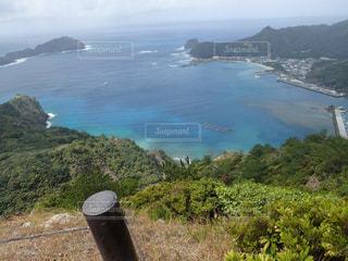 父島  旭山からの眺めの写真・画像素材[1206476]