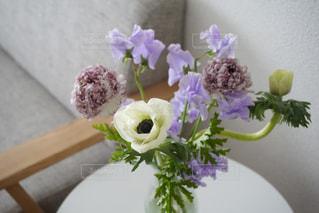 リビングに春の花をの写真・画像素材[1795587]