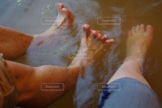 足湯の写真・画像素材[1203135]