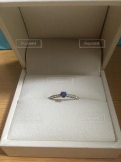 婚約指輪の写真・画像素材[1203142]