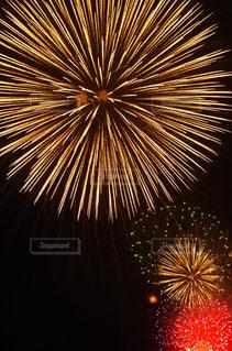 空に花火の写真・画像素材[1213960]