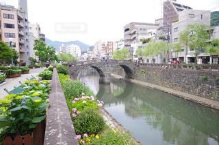 長崎のめがね橋の写真・画像素材[1218258]
