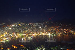 夜の街の写真・画像素材[1218259]