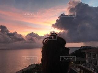 石垣島の夕焼けの写真・画像素材[1321089]