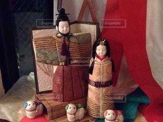木目込み人形(雛人形)の写真・画像素材[1212466]