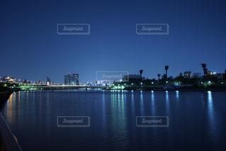 静かな青の写真・画像素材[1207117]