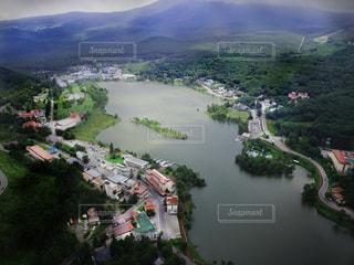 白樺湖 長野県 信州の写真・画像素材[1448147]