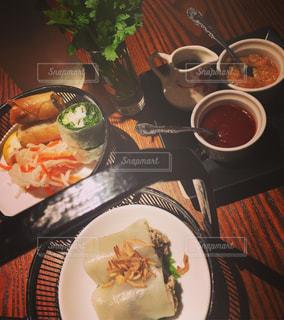 ある日の食事の写真・画像素材[1240370]