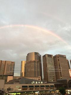 虹の街の写真・画像素材[1213171]