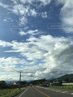 空には雲の写真・画像素材[1213172]