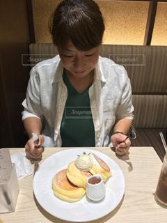 パンケーキの写真・画像素材[1227448]