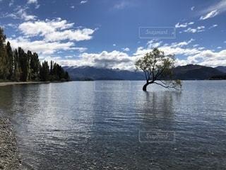水の大きな体の写真・画像素材[1240535]