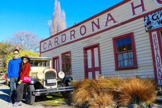 ニュージーランドで一番古いホテルの写真・画像素材[1250343]