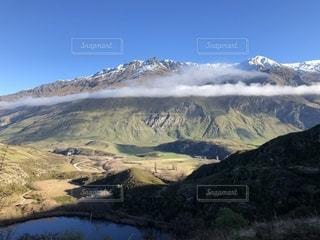 山のビューの写真・画像素材[1280924]