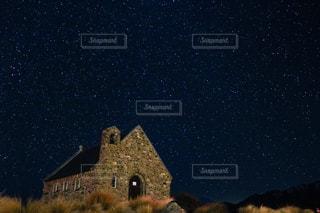 テカポの夜空の写真・画像素材[1379123]