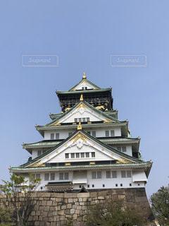 大阪城の写真・画像素材[2098214]