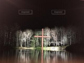 水の教会の写真・画像素材[2140322]