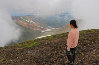 旭岳山頂の景色の写真・画像素材[2705582]