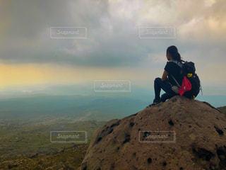 十勝岳トレッキングの写真・画像素材[2705583]