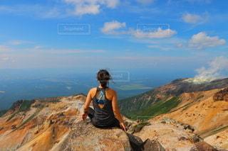 かみほろかめっとく山の写真・画像素材[2744424]