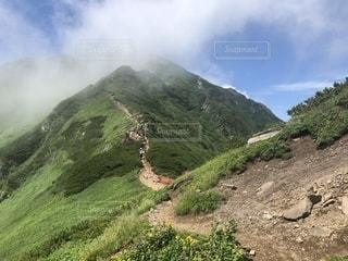 丘の中腹を間近で見るの写真・画像素材[2744427]