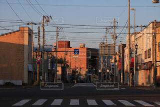 街路の信号の写真・画像素材[3397744]