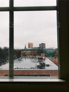 雨の中のボストンの写真・画像素材[1208075]