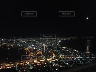 函館山 夜景の写真・画像素材[1210110]